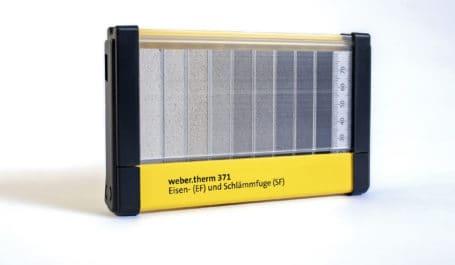 Boîte en PVC rigide pour le rangement et la présentation de joints larges fabriqués dans nos ateliers