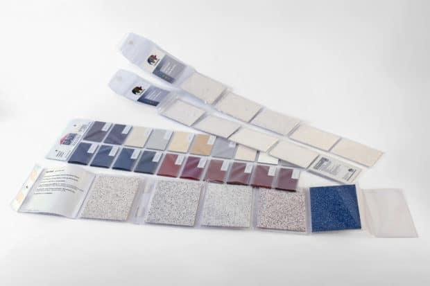 Los leporellos personalizados te ofrecen cuando están abiertos una vista general perfecta de tus colores o acabados