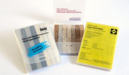 Estuches de PP para muestras de juntas hechos a demanda: elección de las dimensiones, los materiales (color, grosor, efecto), la impresión, el cierre…