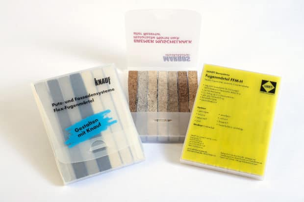 Fugenmusteretuis aus PP in Sonderanfertigung : Wahl des Formats, des Materials (Farbe, Dicke, Effekt), der Bedruckung, des Verschlusses …