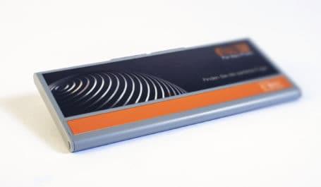Caja muestrario elegante y plana para la presentación de colores de juntas de azulejos