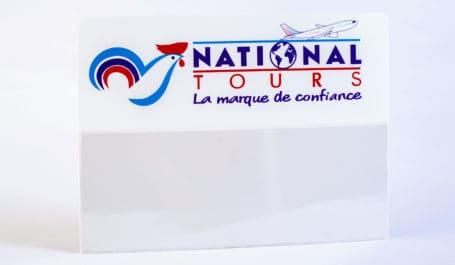 Pancarte d'aéroport imprimée