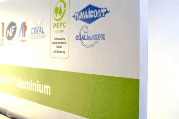 Impression numérique sur PVC expansé du panneau mural sur-mesure