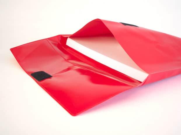 Pochette personnalisée grand format grande capacité en PVC opaque