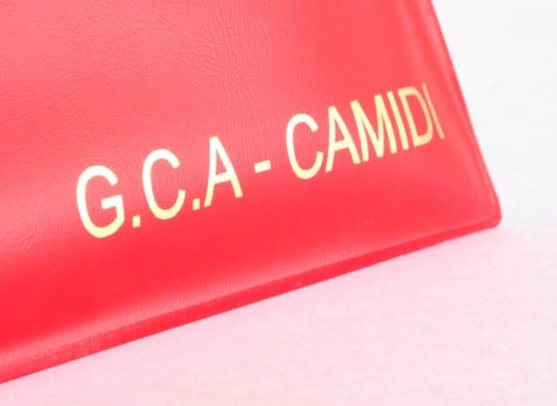 Pochette PVC opaque personnalisée par marquage à chaud