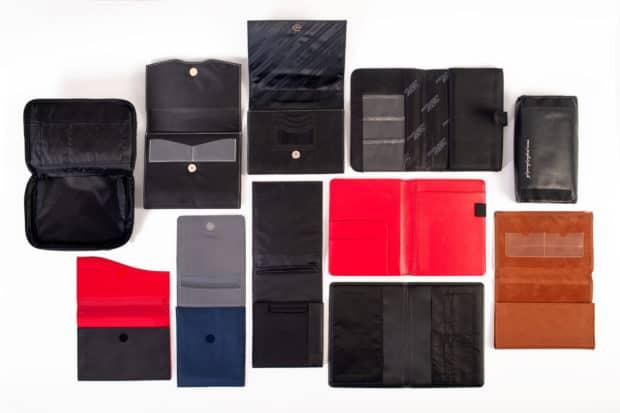 Personnalisation de l'intérieur des pochettes automobiles : nombre de pochettes, matières, etc