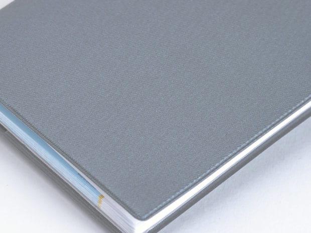 Étui de protection pour chéquier souche haute en PVC sergé soudé
