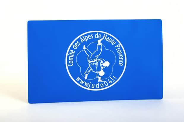 Porte-licence personnalisé en PVC