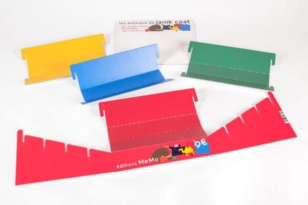 POS-Counter-Displays aus Pappe flach im Kit geliefert
