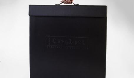 Présentoir en PVC soudé haut de gamme pour grand échantillon de carrelage