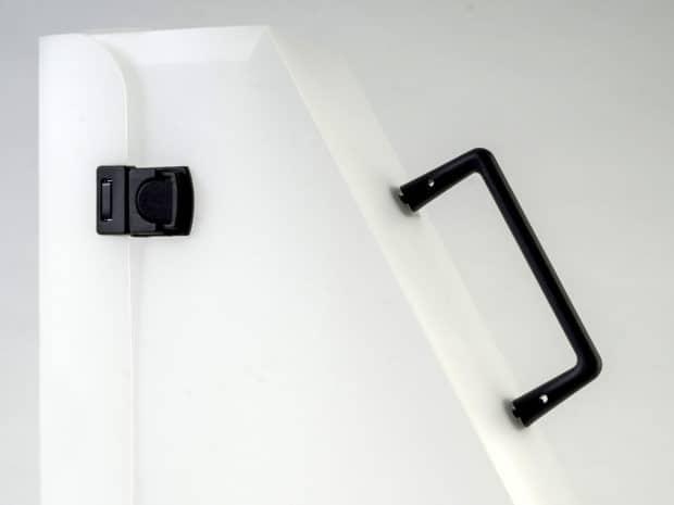 Valisette PP imprimée avec poignée et fermoirs cartable