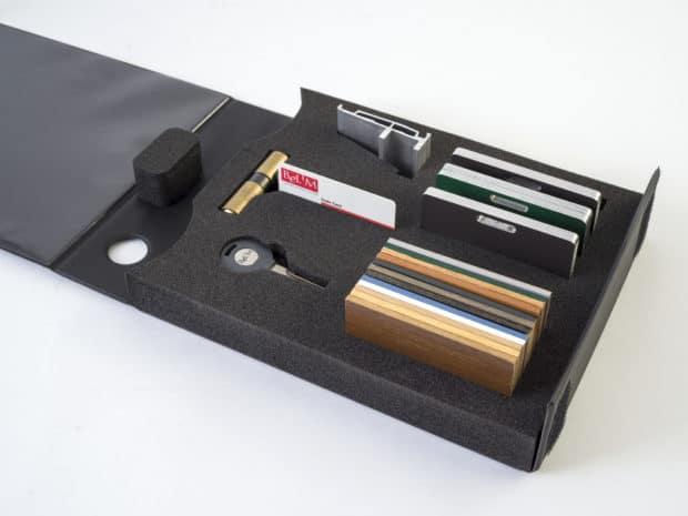 Module sur-mesure pour les accessoires de menuiserie