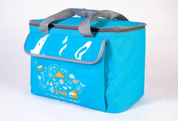 Maßgeschneiderte hochwertige Kühltasche mit hohem Fassungsvermögen (30 Liter)