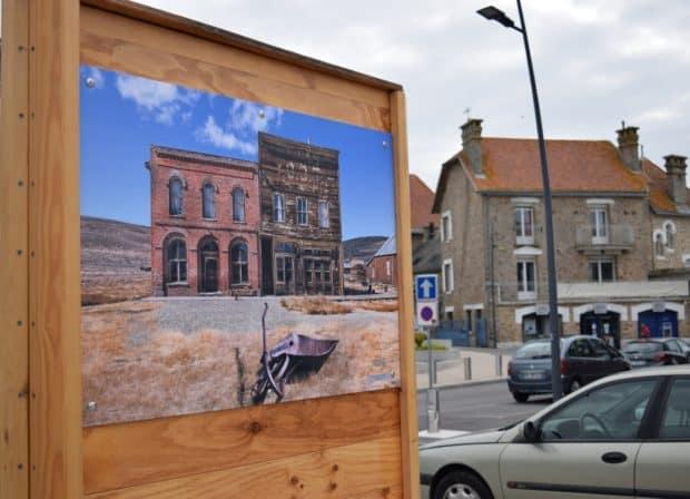 Groβformatiger hochaufgelöster Digitaldruck für Fotoausstellungen im Freien