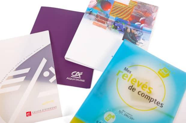 Wählen Sie ein Material opak, halbdurchsichtig oder glasklar für Ihren individuellen PP-Ordner