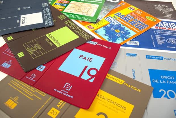 Cubiertas para libros soldadas de PVC hechas a medida para diccionarios, obras de consulta jurídicas y de medicina, textos religiosos…
