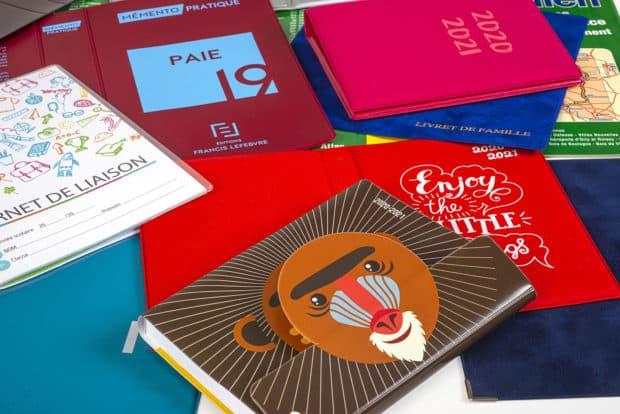 Cubiertas para libros, tapas para agendas, tapas protectoras de PVC y PP hechas a demanda