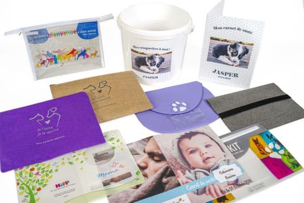 Fundas para cartillas de vacunación para niños y animales de compañía, fundas para cartillas de salud y cubiertas para libros sanitarios hechas a medida para clientes empresariales