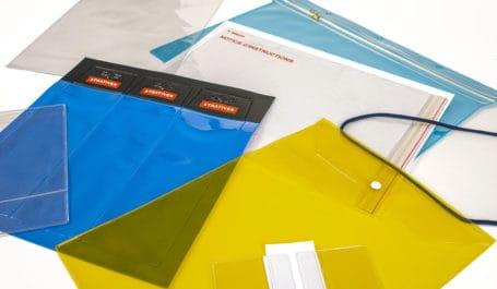 Preishüllen, Plakattaschen, Etuis, Hängehüllen aus PVC in Sonderanfertigung