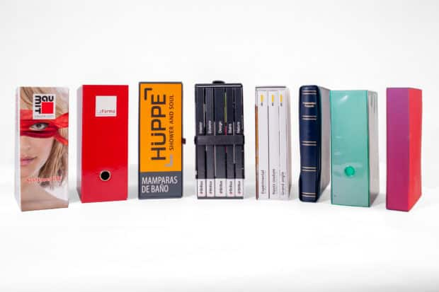 Exclusive slipcases and racks in every conceivable design
