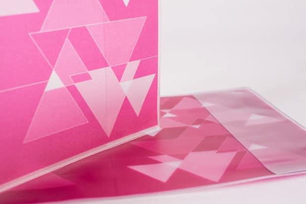 Jaquette en PVC soudé avec impression numérique