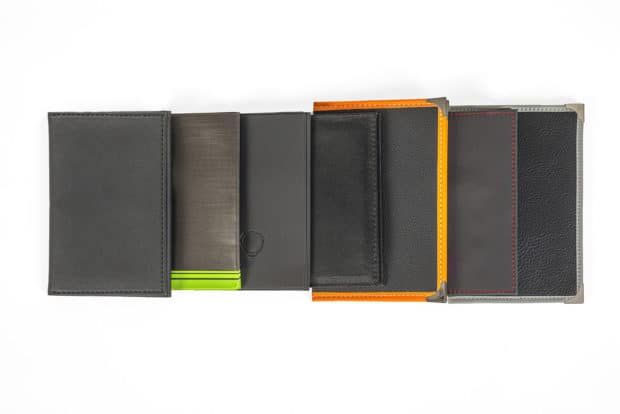 Sewn vehicle registration card wallets, custom-made - design according to your wish