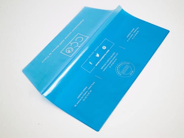 PVC translucide pour la discrétion