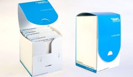 Boîte nuancier en PP originale pour échantillons d'enduits au format A6