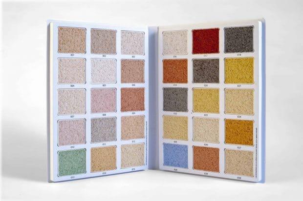Langjährige Erfahrung im Anmischen und Verarbeiten von Kratzputzen, um den perfekten Farbton zu erzielen
