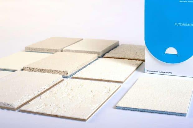 Fabrication d'enduits minéraux de 10mm d'épaisseur et découpe nette par Design Duval