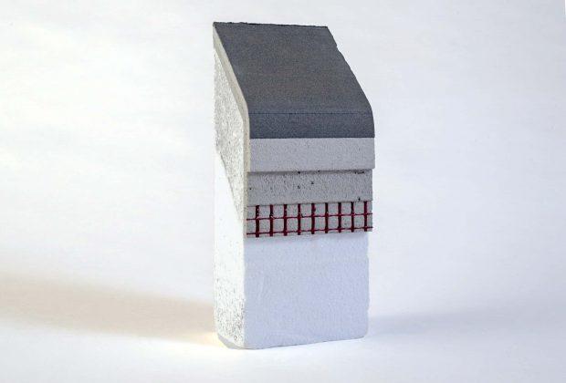 Fabrication sur-mesure de maquettes ITE sôcle en éclaté